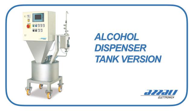Alcohol Dispenser Stand Alone Version